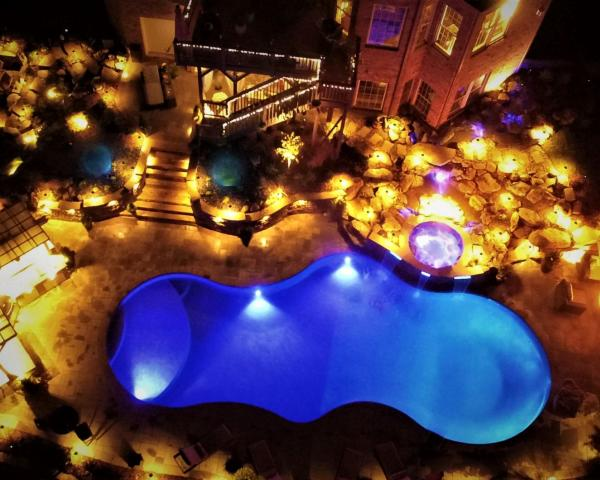 Gold Design Award Winning Pool Landscape