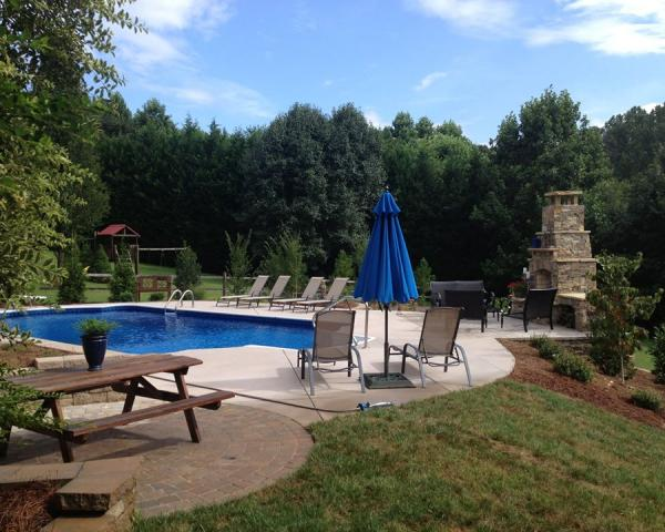 Back Yard Dream Pool