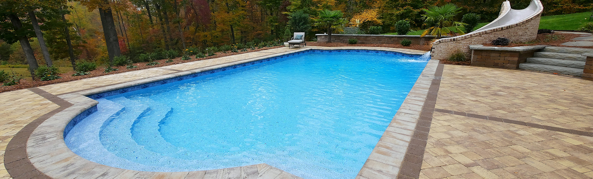 2017 Winning pool design by Guilford Pools